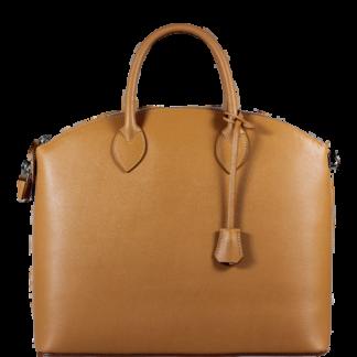 Genuine leather kabelky Ofelia Camel Chiaro